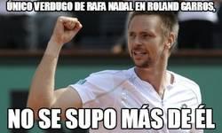Enlace a Único verdugo de Rafa Nadal en Roland Garros