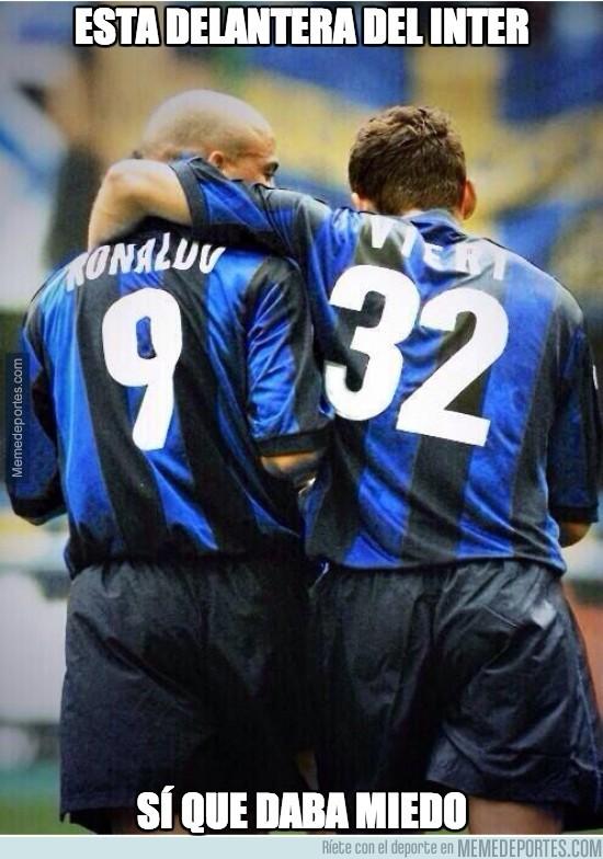 211872 - Esta delantera del Inter sí que daba miedo