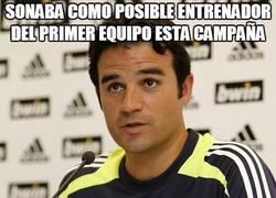 Enlace a Sonaba como posible entrenador del primer equipo esta campaña