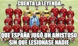 Enlace a La leyenda de los amistosos de España