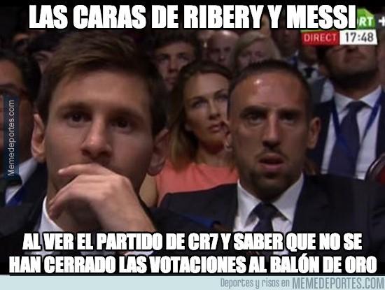 212437 - Ribery y Messi lo han flipado
