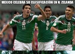 Enlace a México celebra su clasificación en Nueva Zelanda