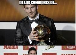 Enlace a La afición de Messi por los trajes raros