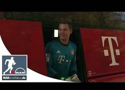 Enlace a VÍDEO: Respuesta de Ribéry y Neuer al vídeo del Borussia Dortmund