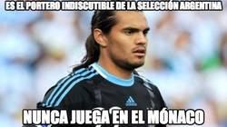 Enlace a Es el portero indiscutible de la selección argentina