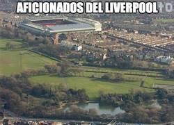 Enlace a Aficionados del Liverpool