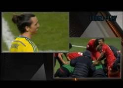Enlace a VÍDEO: Así reaccionaron Cristiano e Ibrahimovic cuando el otro marcaba un gol