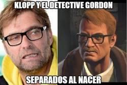 Enlace a Klopp y el detective Gordon
