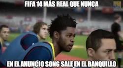 Enlace a FIFA14 más real que nunca