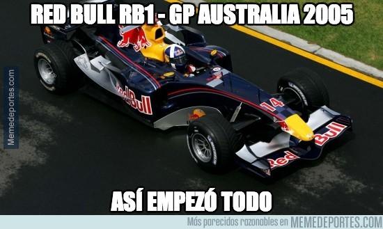 213948 - Red Bull RB1 - GP Australia 2005. Así se generó la historia