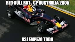 Enlace a Red Bull RB1 - GP Australia 2005. Así se generó la historia