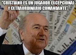 Enlace a Hora de la medicación, señor Blatter