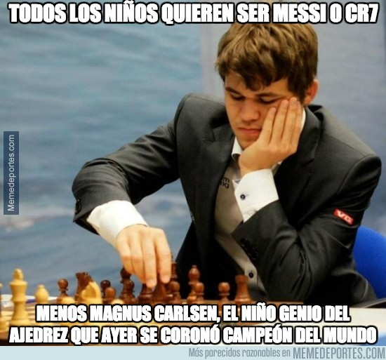 213981 - Magnus Carlsen no soñaba con ser Messi ni CR7