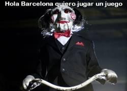 Enlace a Jigsaw y su juego con el Barça