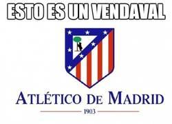 Enlace a Vaya vendaval este Atlético de Madrid