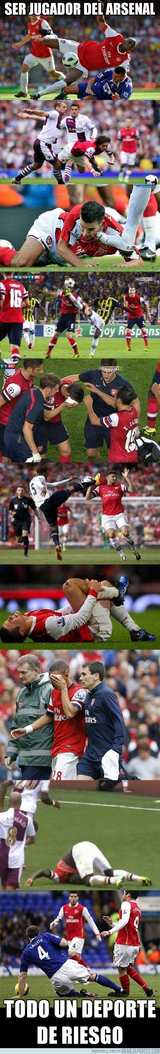 214760 - Ser jugador del Arsenal