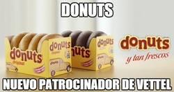 Enlace a Donuts, nuevo patrocinador de Vettel