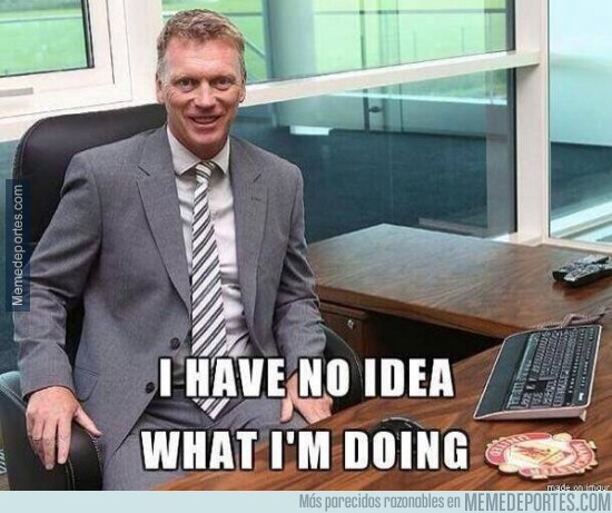 215227 - Moyes sigue a su rollo, ni p*** idea