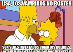 Enlace a Lisa, los vampiros no existen