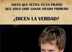 Enlace a ¿Es cierto que Vettel sólo gana si es primero?