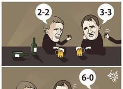 Enlace a Los entrenadores del Liverpool, Manchester United y Tottenham ahogando sus penas