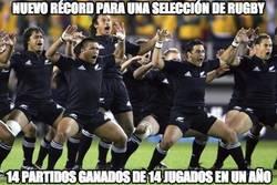 Enlace a Nuevo récord para una selección de rugby