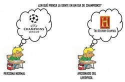 Enlace a Pensamientos de un aficionado de Liverpool cuando hay jornada de Champions