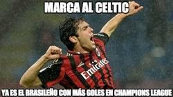 Enlace a No es broma, Kaká es el brasileño con más goles en UCL