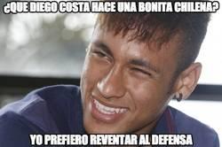 Enlace a ¿Que Diego Costa hace una bonita chilena?