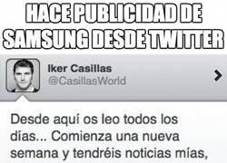 Enlace a Da publicidad a Samsung desde twitter