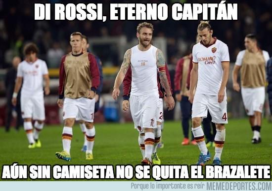 216727 - Di Rossi, eterno capitán