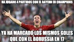 Enlace a Ha jugado 4 partidos con el Bayern en Champions