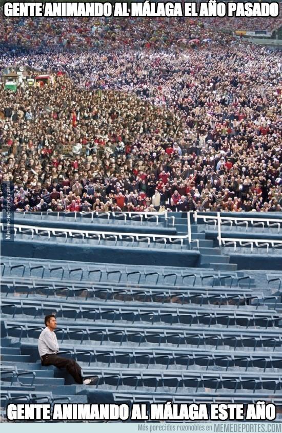 216973 - ¿Dónde están los chaqueteros que apoyaban el Málaga el año pasado?