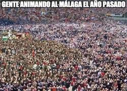 Enlace a ¿Dónde están los chaqueteros que apoyaban el Málaga el año pasado?