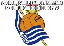 Enlace a ¿Sólo nos vale la victoria para seguir jugando en Europa?