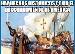 Enlace a Hay hechos históricos como el descubrimiento de América