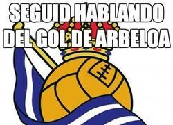 Enlace a Seguid hablando del gol de Arbeloa