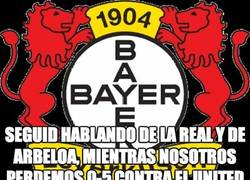 Enlace a Palizón del Manchester United al pobre Leverkusen