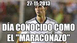 Enlace a 27-11-2013, el Maraconazo