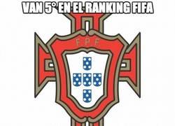 Enlace a Van 5° en el ranking FIFA