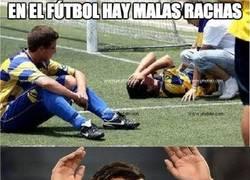 Enlace a En el fútbol hay malas rachas