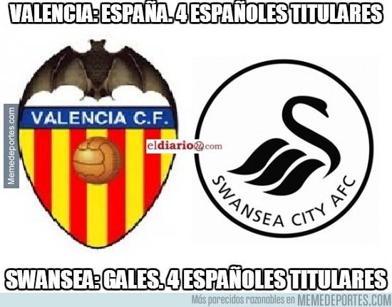 217808 - Españoles en el Swansea - Valencia