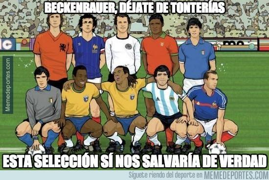 217909 - Beckenbauer, déjate de tonterías