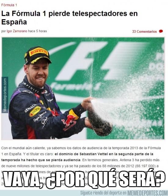217949 - La Fórmula 1 pierde telespectadores en España