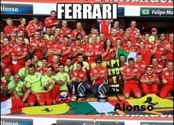 Enlace a Foto de equipo Ferrari 2013