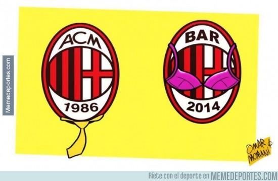 218246 - La hija de Berlusconi modificando horriblemente al Milan [Nueva presidenta del Milan]