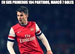 Enlace a En sus primeros 104 partidos, marcó 7 goles