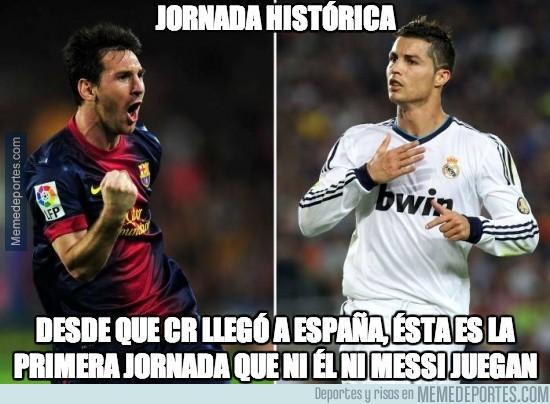 218454 - Jornada histórica para Messi y CR7