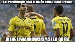Enlace a Lewandowski es el que manda en el Borussia