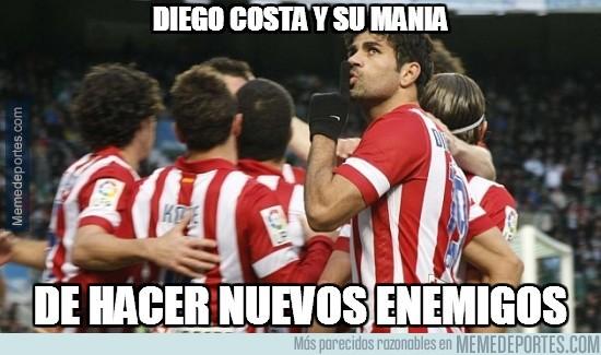 218528 - Diego Costa haciendo callar a la afición del Elche